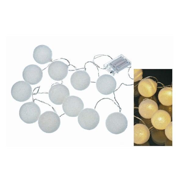 Łańcuch światełek Snowball, 170 cm