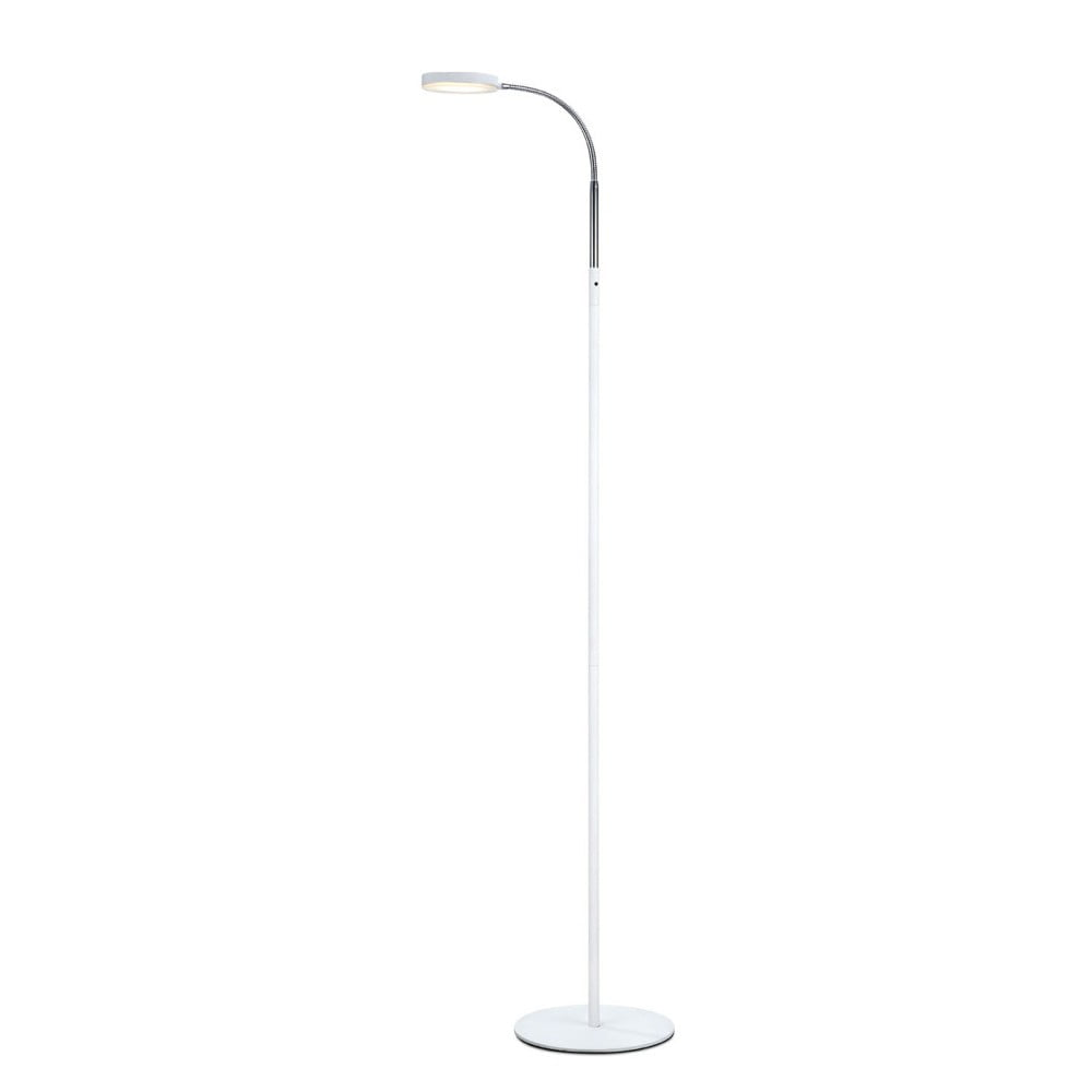 Biała lampa stojąca LED Markslöjd Flex