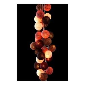 Girlanda świetlna Mocha Amore, 50 światełek
