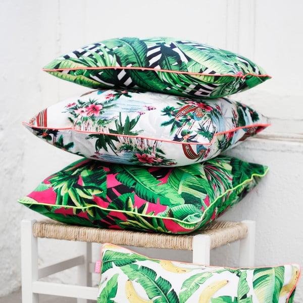 Bawełniana poszewka na poduszkę HF Living Pink Palm 50 x 50 cm