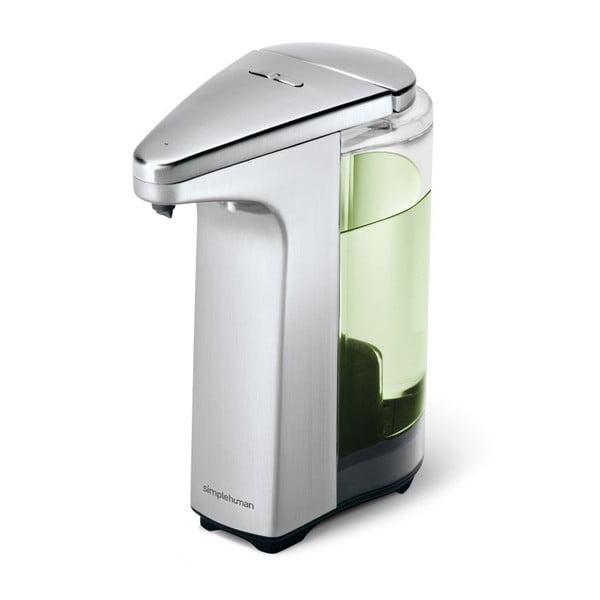 Bezdotykowy dozownik do mydła Lisa, srebrny