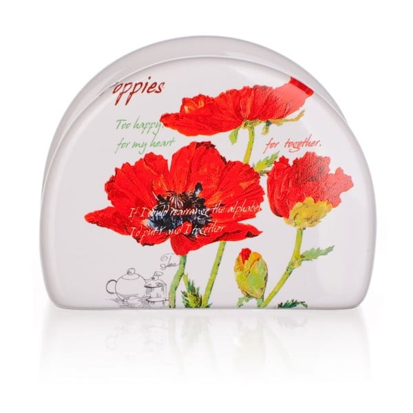 Stojak na serwetki Red Poppies