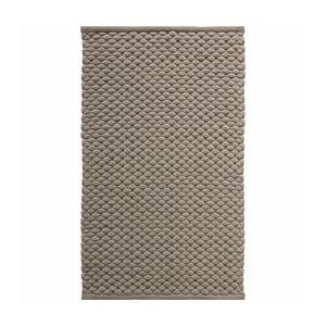 Szarobrązowy dywanik łazienkowy Aquanova Maks, 60x100 cm