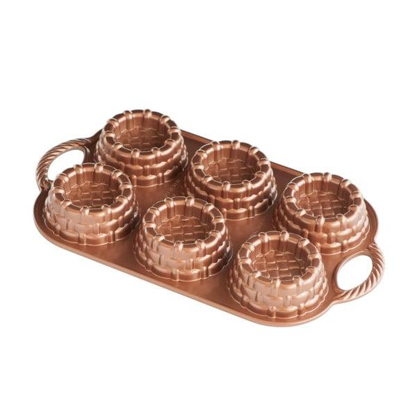 Foremki na 6 babeczek Nordic Ware Mini Marianne, 700 ml