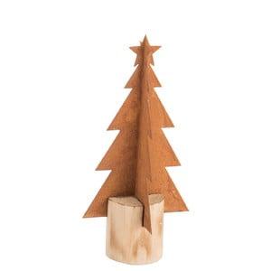Mała metaowa choinka dekoracyjna J-Line Tree, wys.23cm