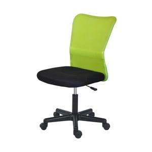 Zielone krzesło biurowe SOB Officer