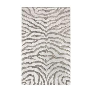 Dywan tuftowany ręcznie nuLOOM Zebra Grey, 120x183 cm