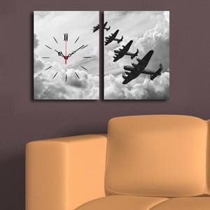 Obraz z zegarem W Chmurach