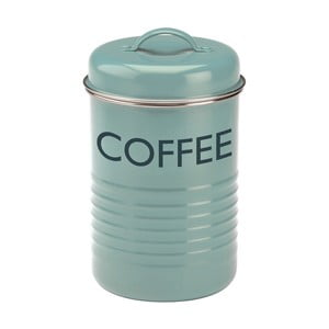 Niebieski pojemnik na kawę Typhoon Vintage