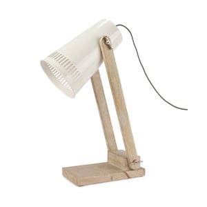 Beżowa lampa stołowa HF Living Master