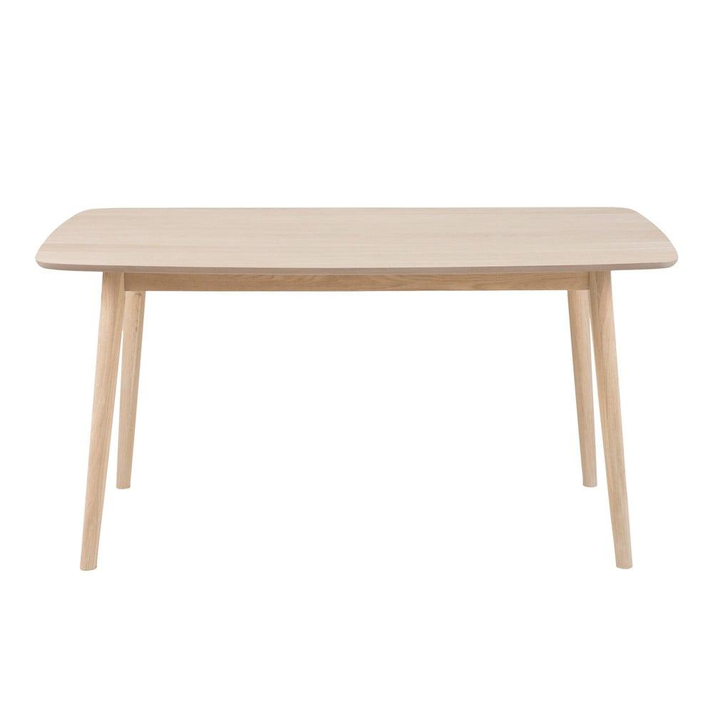 Stół z konstrukcją z drewna dębowego Actona Nagano, 150x80 cm