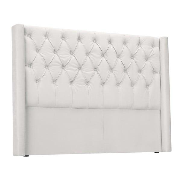 Biały zagłówek łóżka Windsor & Co Sofas Queen, 216x120 cm