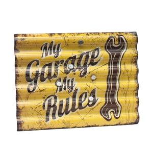 Tablica My Garage My Rules