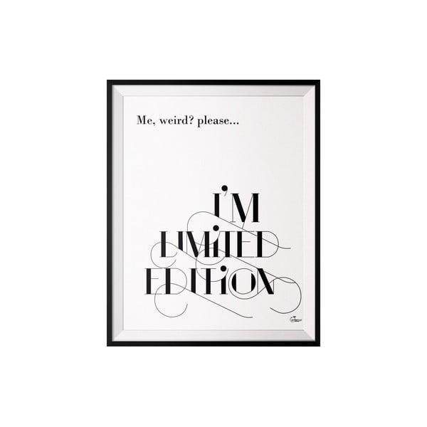 Plakat Limited, 40x50 cm