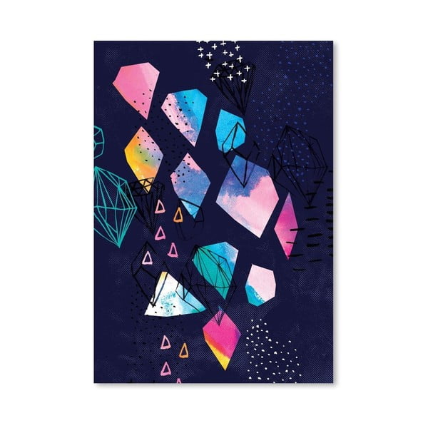 Plakat Shine Bright No.2, 30x42 cm