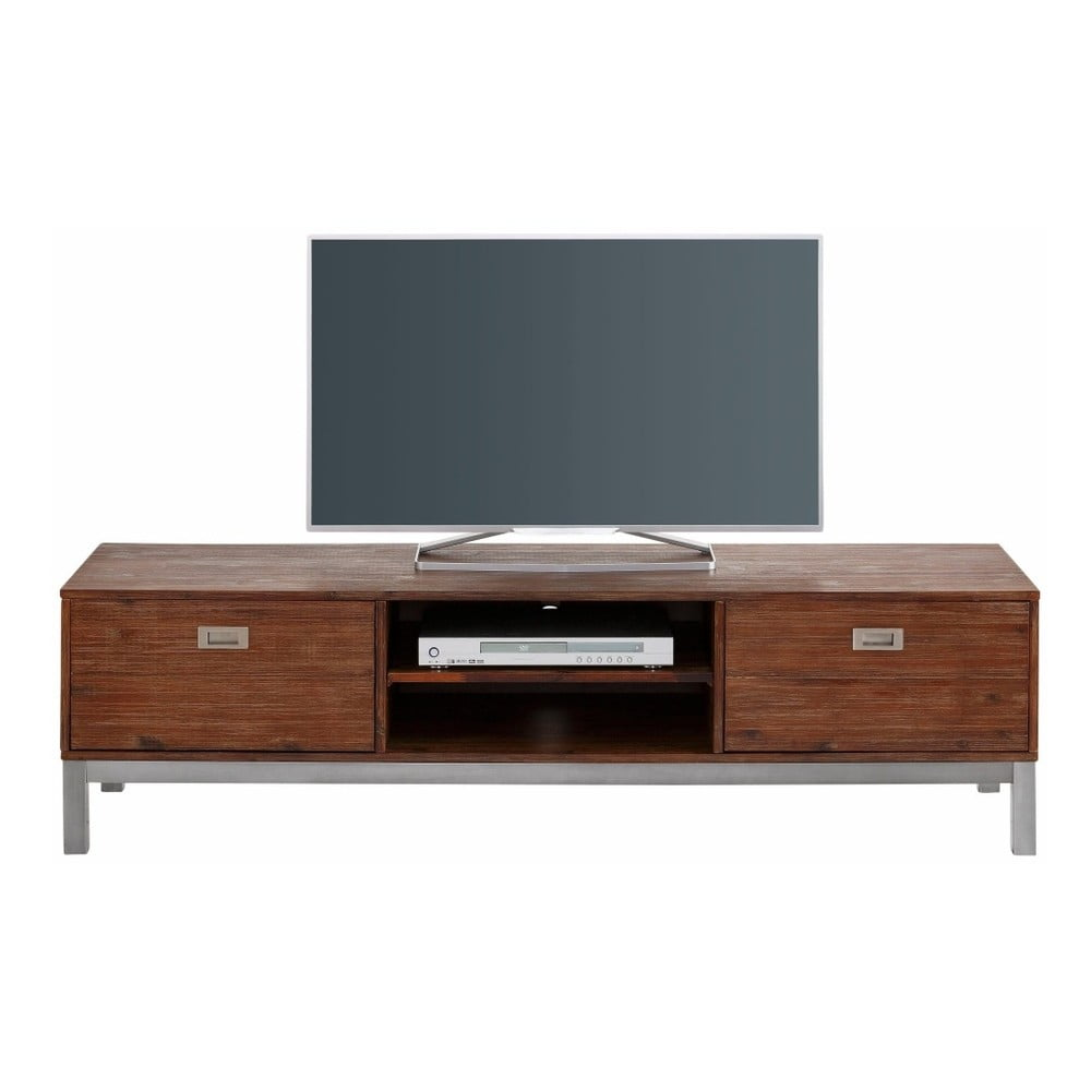 Szafka pod TV z litego drewna akacjowego Støraa Congo