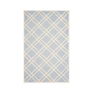 Dywan wełniany Mati 152x243 cm, jasnoniebieski