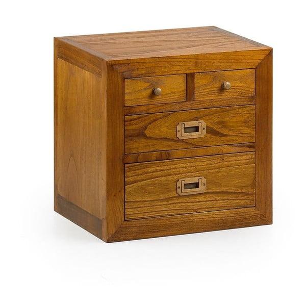 Komoda z 4 szufladami z drewna mindi Moycor Star