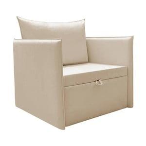 Beżowy fotel rozkładany 13Casa Furby Plus