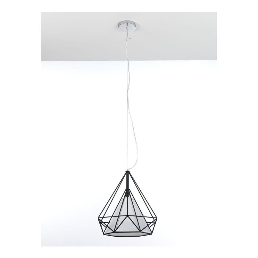 Czarna lampa wisząca Tomasucci Diamond
