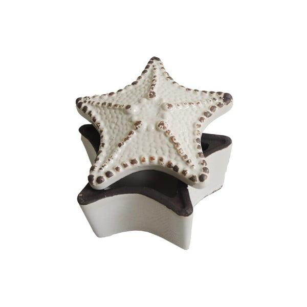 Ceramiczna szkatułka na biżuterię Star