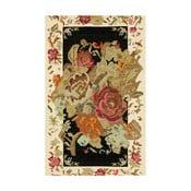 Jasny dywan Kate Louise Flowered, 80x150 cm