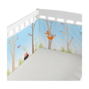 Ochraniacz na łóżeczko Little W Brave, 210x40 cm