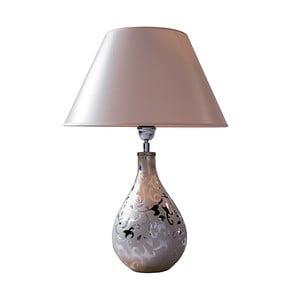 Lampa stołowa White Silver