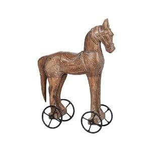 Dekoracja Horse On Wheel