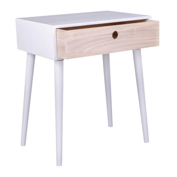 Drewniana szafka nocna z szufladą House Nordic Parma