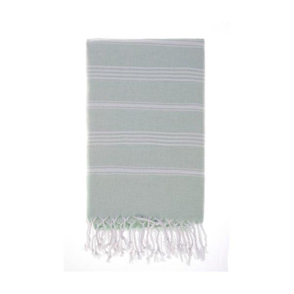 Ręcznik Hamam Cesme Green, 100x180 cm