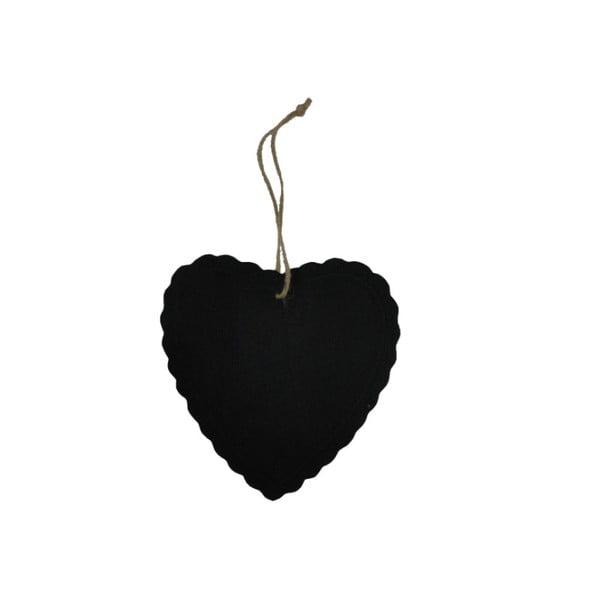 Tablica do pisania Antic Line Heart Decor