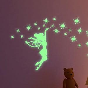 Zestaw naklejek świecących w ciemności Ambiance Fairytale