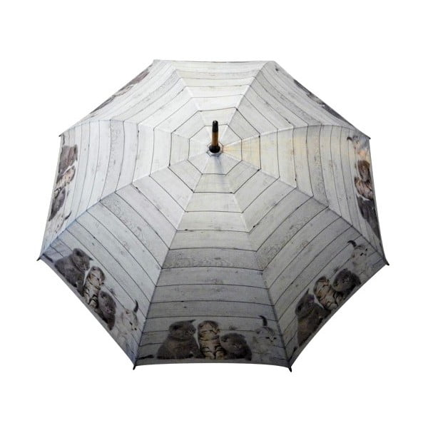 Parasol Scaffold Wood Kittens Grey