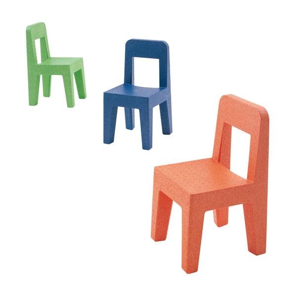 Krzesło dziecięce Seggiolina Pop, niebieskie