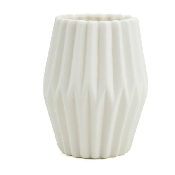 Biały wazon Novoform Riffle 3
