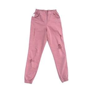 Różowe spodnie Lull Loungewear Glamorous, rozmiar L