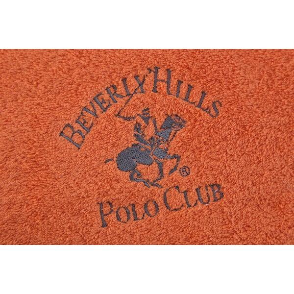 Ręcznik bawełniany BHPC 50x100 cm, pomarańczowy