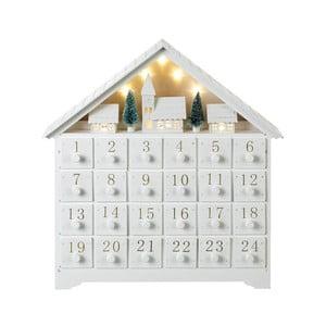 Kalendarz adwentowy ze światełkami LED Parlane, wys. 36 cm