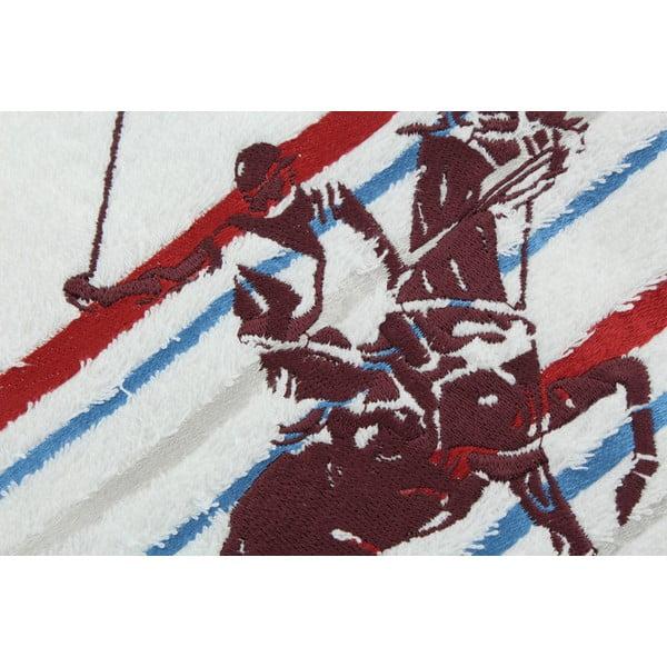 Ręcznik bawełniany BHPC White 50x100 cm, różowy