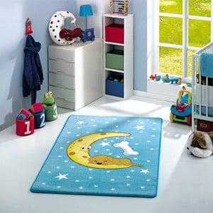 Dywan dziecięcy Moon Blue, 133x190 cm