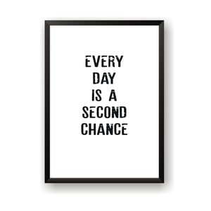 Plakat Nord & Co Second Chance, 21 x 29 cm