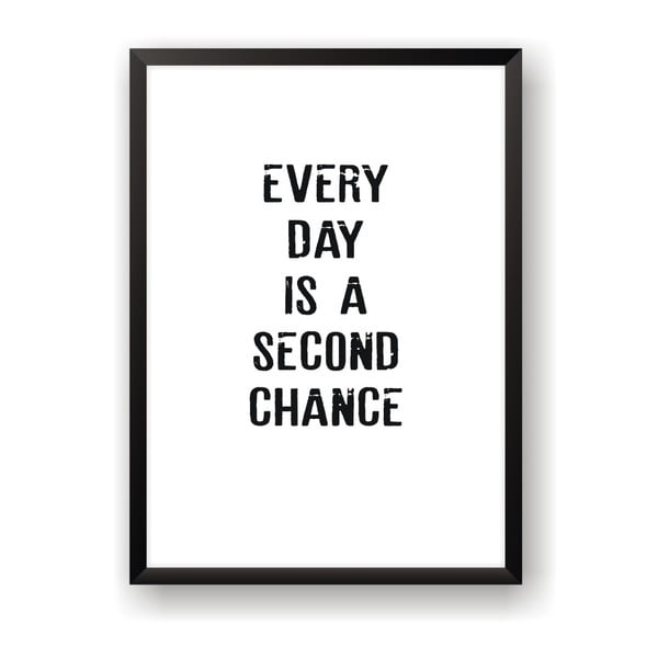 Plakat Nord & Co Second Chance, 30 x 40 cm