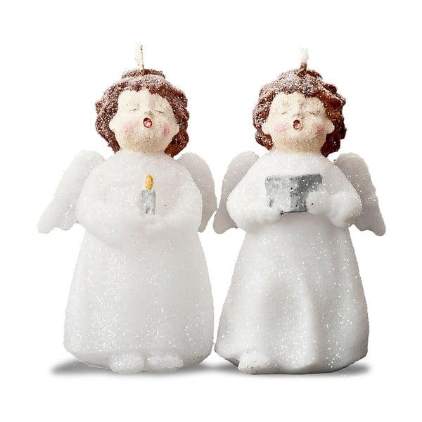 Zestaw 2 świeczek Singing Girls