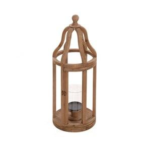 Lampion drewniany Beige, 27x72 cm