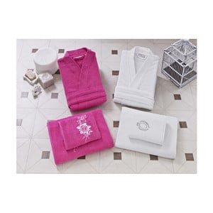 Rodzinny zestaw szlafroków i ręczników Liv
