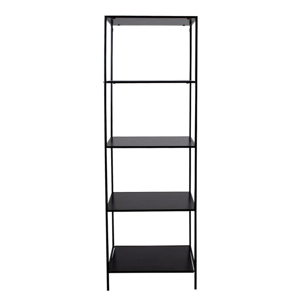 Czarny regał House Nordic Vita Shelf, 51x170 cm