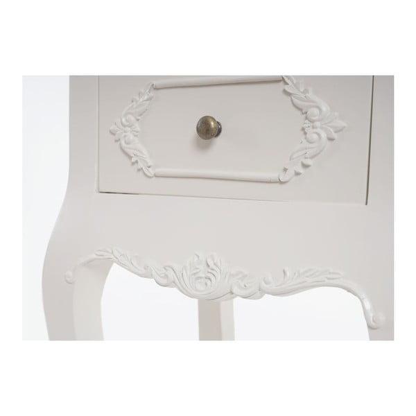 Stolik nocny Baroque Creamy White