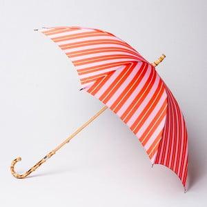 Parasol Alvarez Stripe Orange Pink
