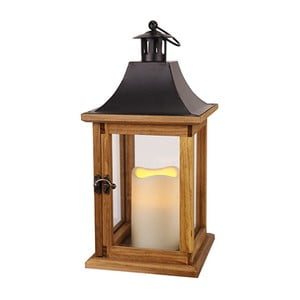 Lampion LED Best Season Natural 35 cm